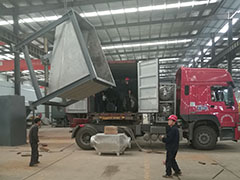 Sri Lanka Sludge Rotary Kiln Delivery