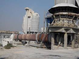 Lime rotary kiln production line