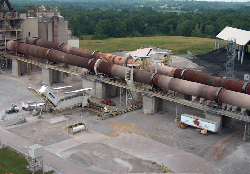 Rotary Cement Kiln : Cement rotary kiln production case in north eastern
