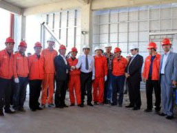 Cement kiln Production Completion in Iraq