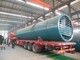 lime rotary kiln delivery