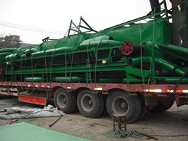carbonization furnace delivery