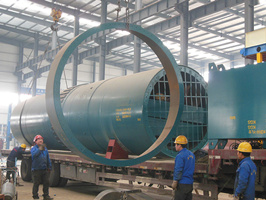 rotary kiln delivery