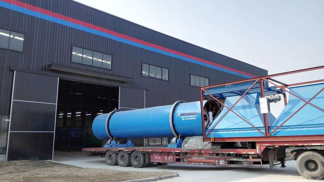 rotary drying machine delivery
