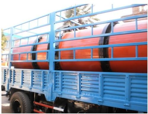 rotary dryer delivery