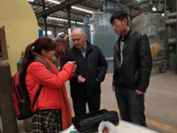 Moscow Customer Visits Taida for Biomass