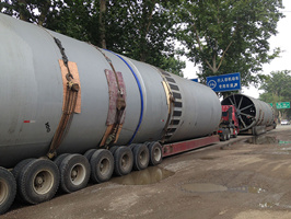 rotary kiln equipment delivery